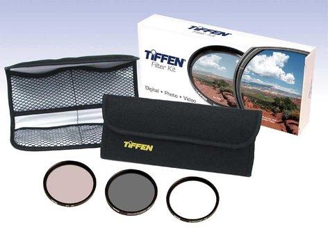 Tiffen 58TPK1 3 Piece Filter Set, 58mm 58TPK1