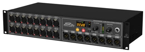 Behringer S16-BEHRINGER Digital Snake S16 I/O Box with 16 Microphone Preamps and 8 XLR Outputs S16-BEHRINGER