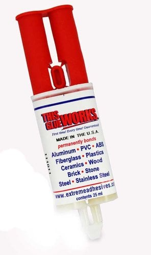 Sonic Shock GLUECARTRIDE Glue for Affixing Alarm Base GLUECARTRIDGE