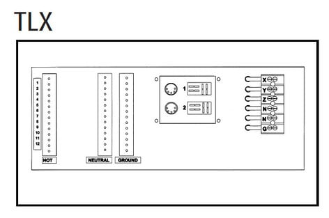 Leprecon MX2400TLX/TP 2.4 KW Per Channel Digital Dimmer (with Terminal Strip Option, Rack Mountable) MX2400TLX/TP