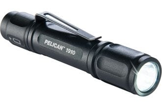 Pelican Cases 1910 Black LED Flashlight (39 Lumens) 1910-PELICAN