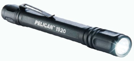 Pelican Cases 1920 Black Hi-Output LED Flashlight (67 Lumens) 1920-PELICAN