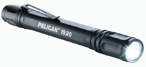 Pelican Cases 1920-PELICAN Black Hi-Output LED Flashlight (67 Lumens) 1920-PELICAN