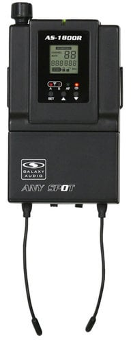 Galaxy Audio AS-1800R Wireless In Ear Receiver AS-1800R