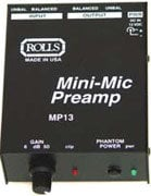 Rolls MP13 Microphone Preamp MP13