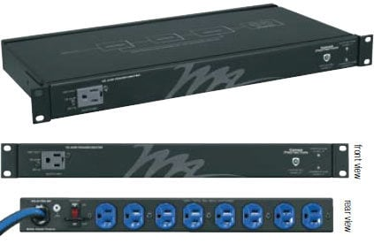 Middle Atlantic Products PD-920R-SP 1 RU 20A Rackmount Surge Protector PD920R-SP