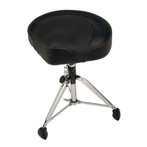 Gibraltar 9608 2T 2 Tone Drum Throne Saddle Seat 9608 2T