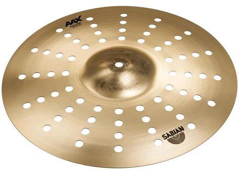 """Sabian 216XAC 16"""" AAX Aero Crash Cymbal in Natural Finish 216XAC"""