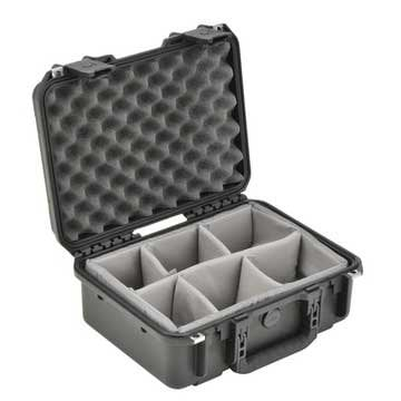 """SKB 3I-1510-6B-D  Molded Case, 15""""x10""""x6"""" with Dividers 3I-1510-6B-D"""
