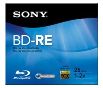 Sony BNR25RH  25GB BluRay Disk, 6X BNR25RH