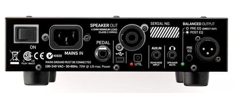 TC Electronic BH250 250W Bass Amplifier Head with TonePrint BH-250