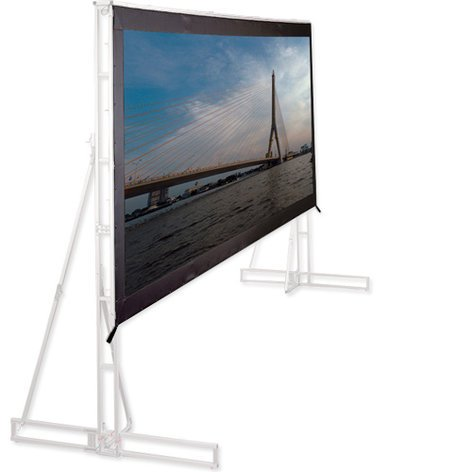 Draper Shade and Screen 221054 19' x 11' Truss-Style Cinefold Projection Surface [Without Truss] 221054