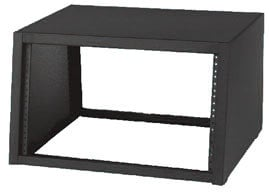 "Lowell LDSR-1218  12RU 18""D Desktop Sloped-Front Rack LDSR-1218"