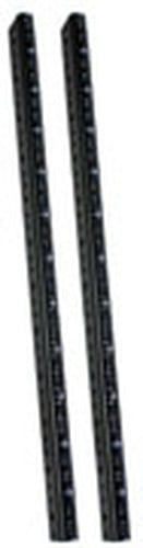 Lowell RRTF-12 12 RU Thin-Flange Rack Rails RRTF12