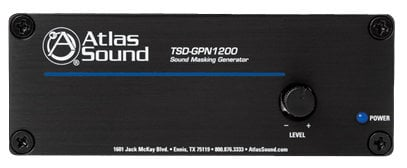 Atlas Sound TSD-GPN1200  Sound Masking Generator TSD-GPN1200