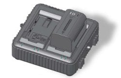 JVC LC-2J  Dual Charger for SSL-JVC50 7.4V Batteries LC-2J