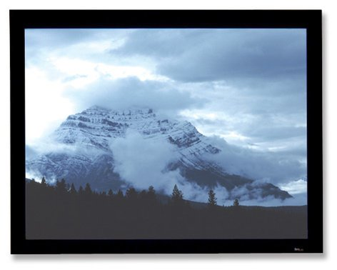 "Draper Shade and Screen 253622  40.5"" x 72"" Onyx with Veltex Projection Screen, Matte White 253622"