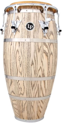 "Latin Percussion LP861Z 11-3/4"" Gonvanni Palladium Series Conga with Chrome Hardware LP861Z"