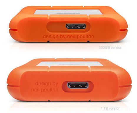 LaCie Rugged Mini 1TB Portable Hard Drive USB 3.0 | USB 2.0 301558