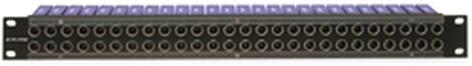 Canare 244U-DVJBW  75 ohm Loaded DVJB Series Digital Video Patchbay 244U-DVJBW