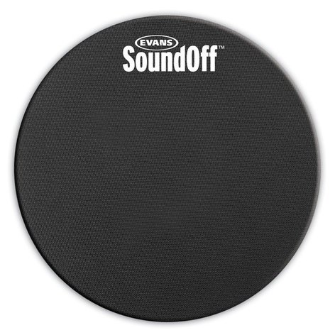"Evans SO12 12"" SoundOff Tom Mute SO12"