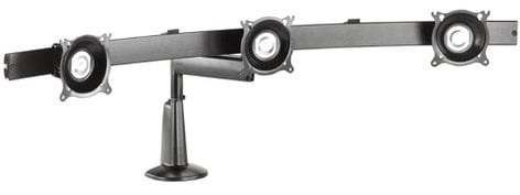 Chief Manufacturing KCS320B  Triple Monitor Single Arm Desk Mount KCS320B