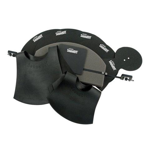 Evans SO-SET-FSN Drum Silencer, Fusion sized kits SO-SET-FSN