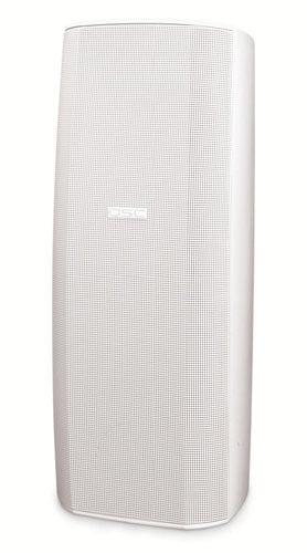 """QSC AD-S282HT Dual 8"""" 2-Way Speaker System with Transformer Taps in White AD-S282HT-WHITE"""