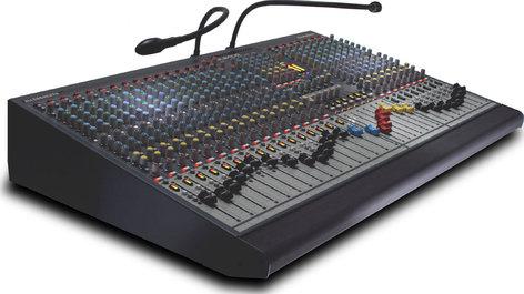Allen & Heath GL2400-16 16 Channel Mixing Console, 4 Group, 6 Aux, LR Mix, Dual Function, 7x4 Matrix (24 Channel Version Shown) GL2400-16