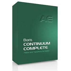 Boris FX BCCAEM800 Continuum Complete 8 AE VFX Plug-in Collection for Adobe After Effects/Premiere Pro (MAC) BCCAEM800