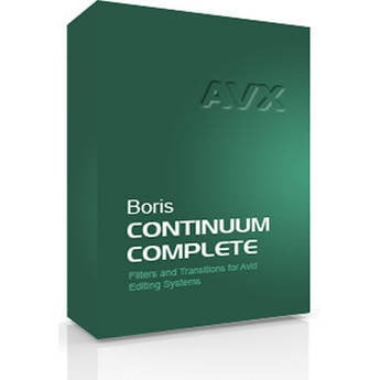 Boris FX Continuum Complete 8 AVX VFX Plug-in Collection for Avid Media Composer, NewsCutter, & Symphony  (MAC) BCCAVXM800