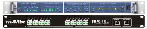 MyMix MADI-IN (1) RME ADI-648 with (1) myMix IEX16L-A (MADI to myMix Interface) MADI-16
