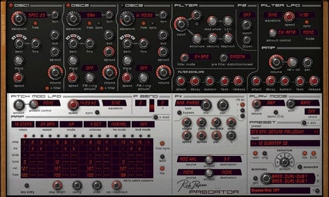 Rob Papen PREDATOR Rob Papen Synth Instrument (Electronic Delivery) PREDATOR