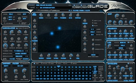 Rob Papen BLADE-ROB-PAPEN Software Synthesizer Virtual Instrument (Electronic Delivery) BLADE-ROB-PAPEN