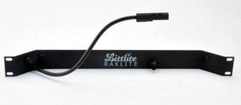 """Littlite RL-10-SA-LED Rackmount Single 12"""" LED Gooseneck Raklite without Power Supply RL10SA"""
