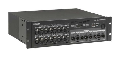 Yamaha RIO1608-D 16 In x 8 Out Digital Stage Box for the CL Series Mixing Consoles RIO1608-D
