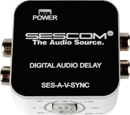 Sescom SES-A-V-SYNC A/V Lip Sync Corrector SES-A-V-SYNC