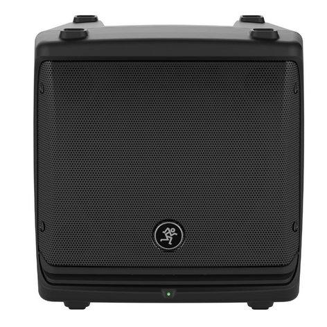 "Mackie DLM8 8"" 2000W Full-Range Powered Loudspeaker DLM8"