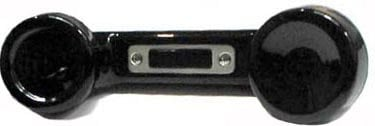 Telex HS-6000 Black Telephone-Style Push-To-Talk Handset with A4M Connector HS-6000