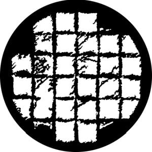 Rosco Laboratories 76603 Soft Grid Gobo 76603