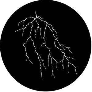 Rosco Laboratories 77629 Lightning 4 Gobo 77629