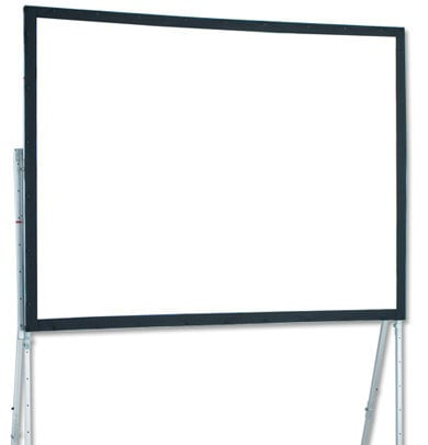 Draper Shade and Screen 241009  10' Ultimate Folding Screen Portable Projection Screen, with Heavy-Duty Legs 241009