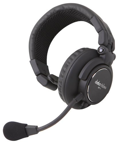 Datavideo Corporation HP-1 Single-Ear Headset for ITC HP1