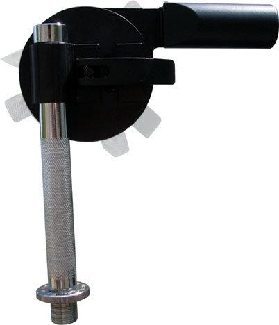 Latch Lake Music SPIN-GRIP-MIC-MOUNT Spin Grip Microphone Mount in Chrome SPIN-GRIP-CHROME