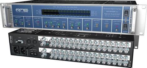 "RME ADI-6432 R BNC - Single Mode 24-Bit/192 kHz, 2x 64-channel MADI <> AES-3id Format Converter, BNC 75 Ohm, with Redundant PSU, 19"" W, 2 RU ADI6432R-BNC-SINGLE"