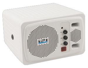 Anchor AN130+-220V 220V Powered Speaker, White AN130+-220V