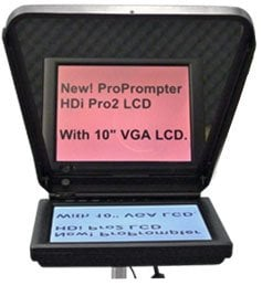 """ProPrompter PP-HD-I-PRO2-LCD HDi Pro2 LCD LCD TelePrompTer Package with 10"""" LCD PP-HD-I-PRO2-LCD"""