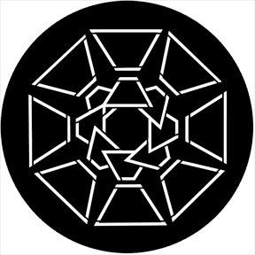 Rosco Laboratories 74020 Symmetric 20 Gobo 74020