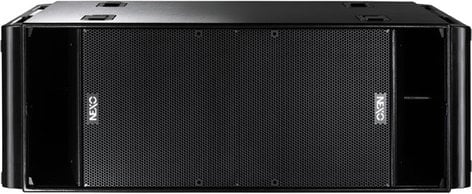 """Nexo RS18-PI Dual 18"""" Tour Subwoofer in Painted Black Finish RS18-PI"""