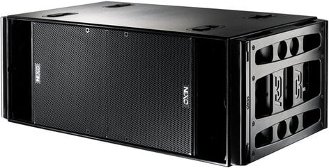 """Nexo RS18-PT Dual 18"""" Tour Subwoofer in Painted Black Finish with Handle RS18-PT"""